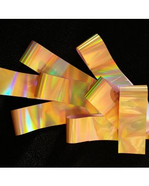 GOLD RAINBOW Holographic Foil