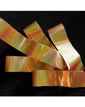 GOLD RIPPLES Holographic Foil